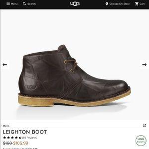 Mens UGG Leighton 3275 Crinkled Chukka Desert Boot